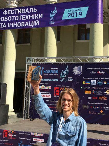 🏆 Успішна участь студента першого курсу ІАТ на фестивалі робототехніки та нових технологій BestRoboFest від компанії ГО «Асоціація Ноосфера»